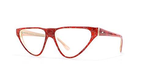 Alain Mikli Damen Brillengestell Rot Rot