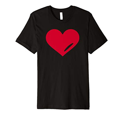 Rotes Herz T-Shirt