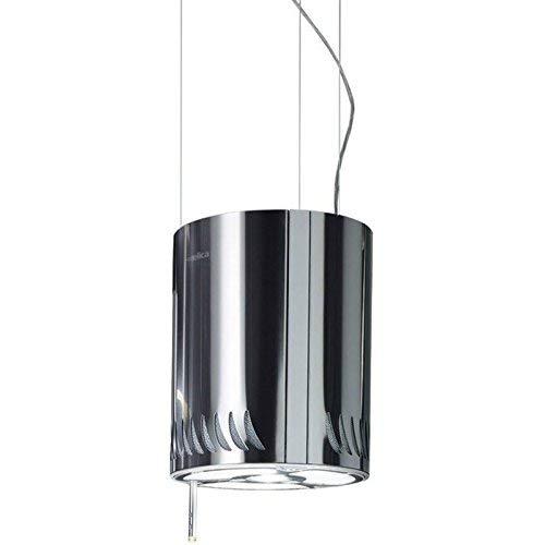 Elica Naked 480 m³/h Decorativa Acero inoxidable - Campana (480 m³/h, Recirculación,...