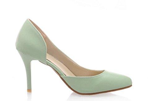 XDGG Nuovo singolo SCARPE DONNA sandali degli alti talloni green