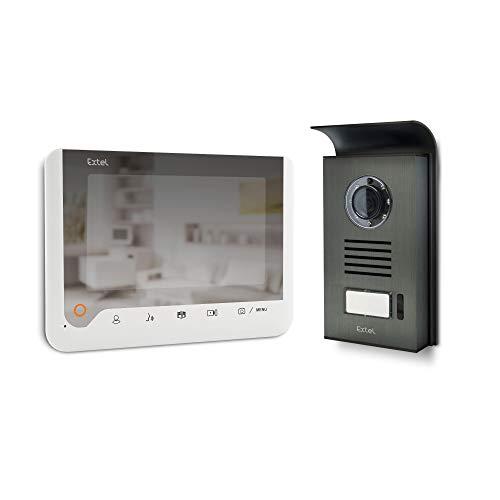 \'EXTEL Ice Videotelefon 2Fäden 7Memory-Übergang und Spiegel, Weiß