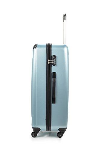 ANTONELLE Kleber Large, Borsa a mano donna, Azul (Blu) - BD-2220_SKY BLUE Azul