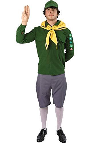 Pfadfinder Kostüm für Herren Karneval Fasching Verkleidung Mottoparty Extra Large (Pfadfinder Kostüm Für Herren)