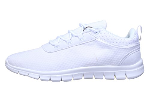 Reservoir Shoes - Basket Dario White Mesh Blanc