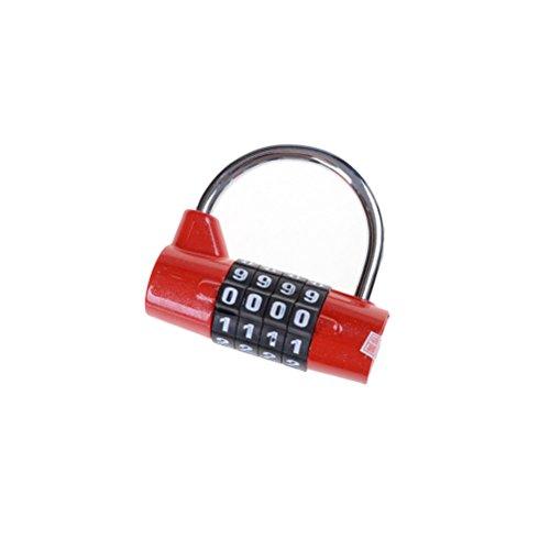 1 Blocco Di Sicurezza Con Password A 4 Cifre, Blocco Largo, Combinazione Lucchetto, Armadietto Palestra, Serratura, Serratura, Codice, Serratura Di Sicurezza
