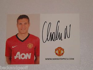 Tom Cleverley Manchester United Hand Signed Autograph- Mint,Uacc With Coa