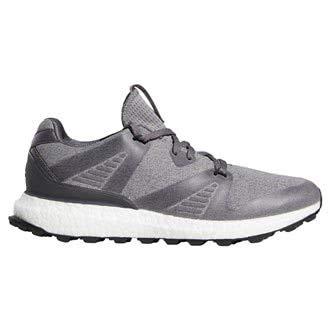 adidas, Scarpe da Golf Uomo, Grigio (Grey/Black), 42,5 EU