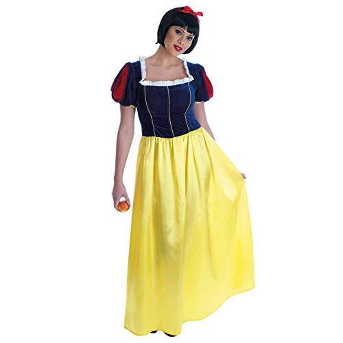 Schneewittchen Kleid - Adult Kostüm - Large - ()