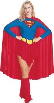 Generique Supergirl-Kostüm für Damen M
