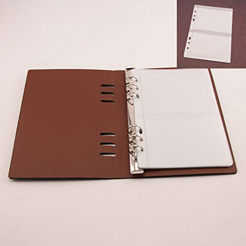 ECMQS Stanzformen Schablone Lager Buch Veranstalter Sammlung, 1 Abdeckung+10 Innenseiten 2 Raster