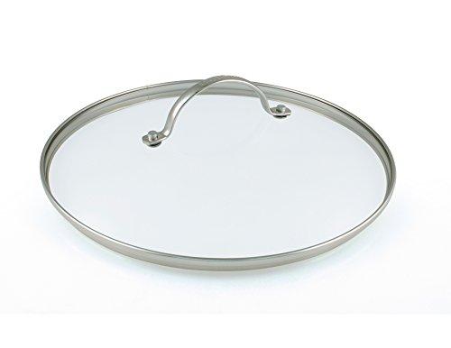GreenPan Universal-Deckel für Brat-Pfannen klein Glasdeckel auch für Koch-Topf geeeignet Single Küche, Glas, Transparent, 20 cm
