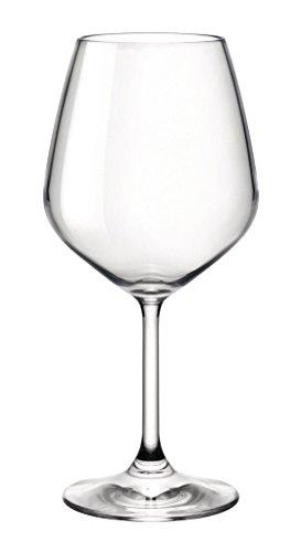 Bormioli 196131-DN7 Restaurant Verre à Vin Transparent 52,5 cl Set de 2