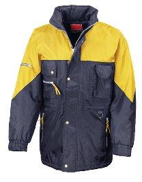 Result Hi-Active Jacket Navy Yellow