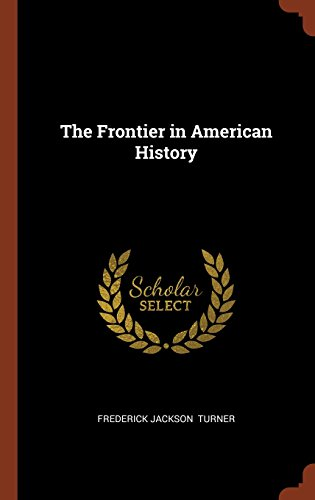 Book cover for The Frontier in American History