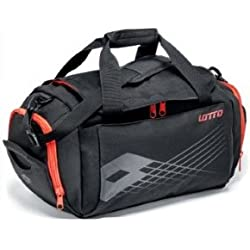 Lotto Trainer Bag Black/Red War
