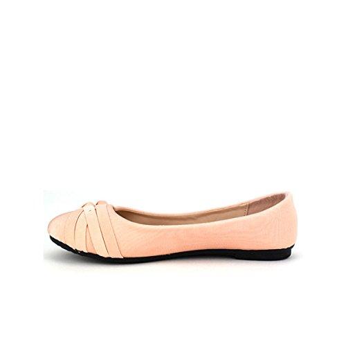 Cendriyon Ballerine Color Rose CINK Chaussures Femme Rose