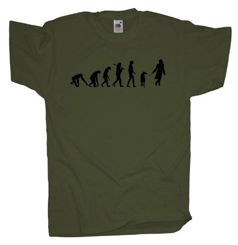 Ma2ca - Evolution - Hund T-Shirt Olive