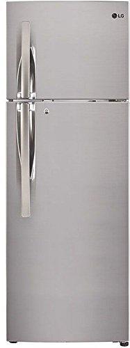 LG 284 L 4 Star Frost-Free Double-Door Refrigerator (GL-T302RPZN, Shiny...