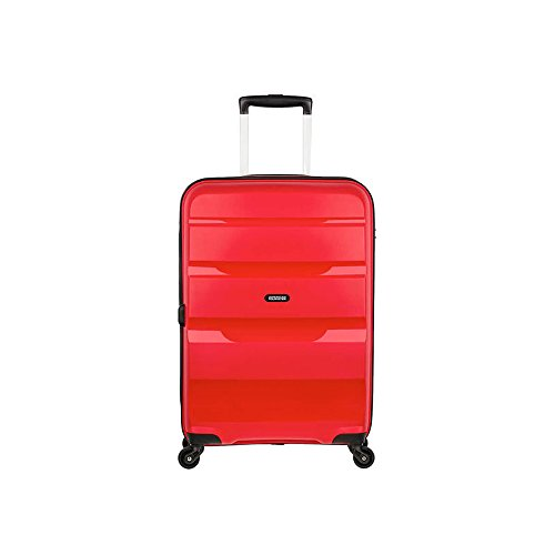 American Tourister Bon Air - Spinner M Bagage cabine, 66 cm, 57.5 liters, Rouge (Magma Red)