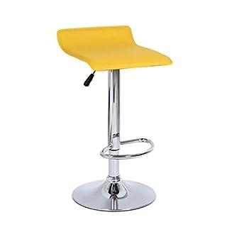 Barhocker Küchentheke Stuhl Barhocker 1 Stück Mit Rückenlehnenstuhl Gebogener Harter PU Sitzauftritt Hebe Dreh Barstuhl Mode Qualität Beschichtung Fußstuhl Moderner minimalistischer Stil - Multi Color