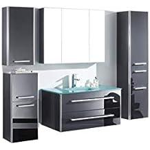 Amazon Fr Ensemble Meuble Vasque Miroir Salle Bain Espace Insell