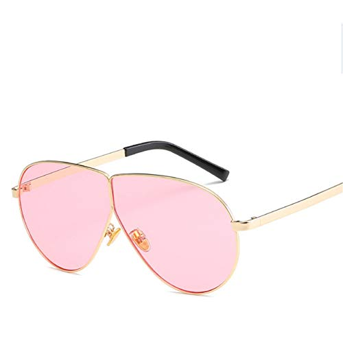 Wenkang Vintage Ladies Oval Sunglasses Women Fashion Clear Lens Black Eyewear Metal Frame Sun Glasses for Female Uv400,2