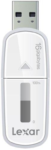 Lexar JumpDrive M10Secure USB 3.0Flash Drive weiß 16 GB (Secure Usb-stick Jumpdrive)