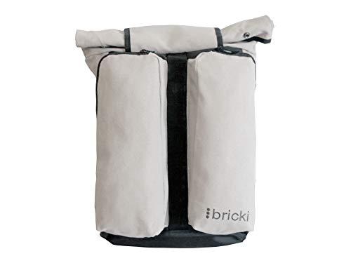 Bricki-Ware Gepäckträgertasche, Rucksack, Fahrradtasche und Fahrradrucksack No.1, stylisch, praktisch, robust und modisch