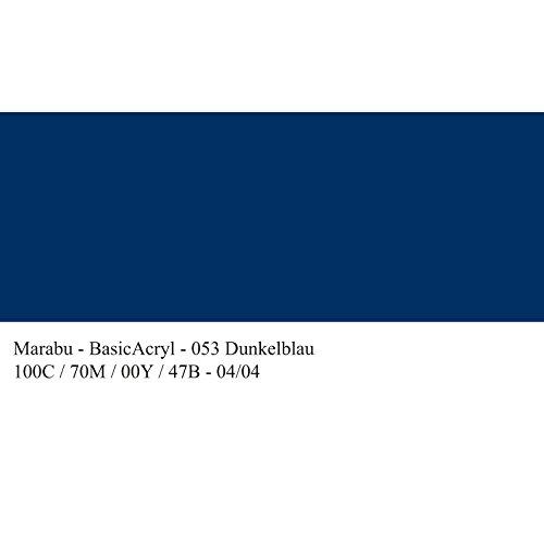 marabu-peinture-acrylique-basicacryl-bleu-fonce-80-ml