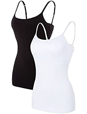 CharmLeaks - Camiseta sin mangas - para mujer