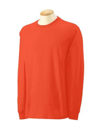 Gildan Kleidung–Hemd Rosa - Orange