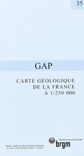 Carte géologique : Gap