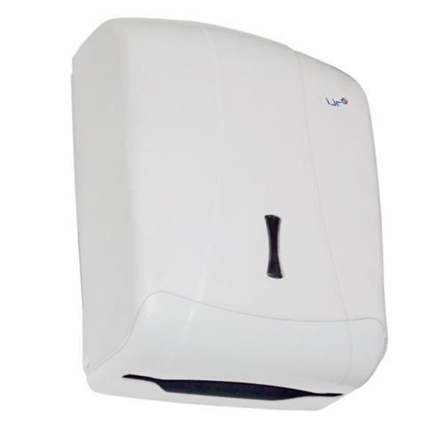 Ijr Electronics - Dispensador Toallas Zig-Zag Blanco