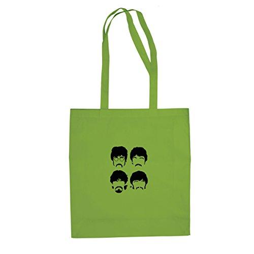 Beatle Cuts - Stofftasche / Beutel Hellgrün