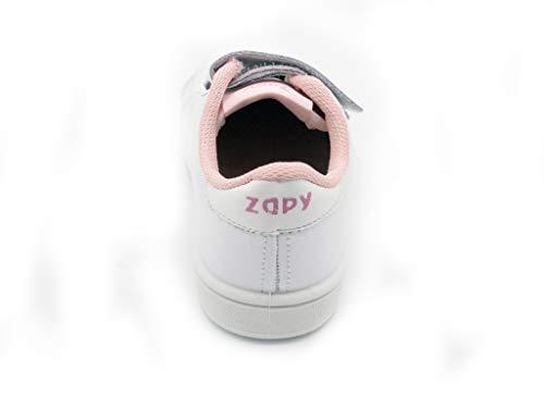 Zapy, Scarpe Outdoor Multisport Bambine Bianco Bianco Bianco Size: 24 EU