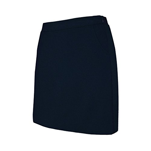 Monterey Club Damen Raglan Uni Skort # 4808, Damen, Navy, Medium -