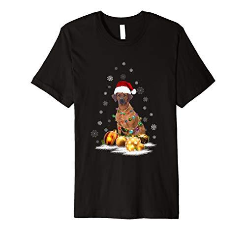 Christmas Dog Light T-Shirt ()