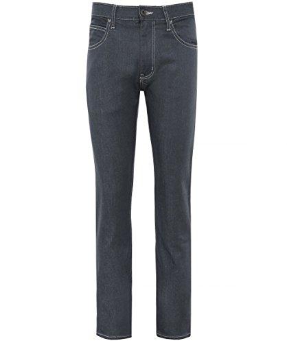 Emporio armani uomo j45 slim fit jeans grigio 50 regolari