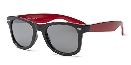 Real Kids 10SWGBKRD Swag Kindersonnenbrille, Größe 10+, schwarzer...