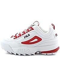 Zapatillas Deportivas para Mujer FILA Disruptor CB Low WMN en Cuero Blanco 1010604-02A
