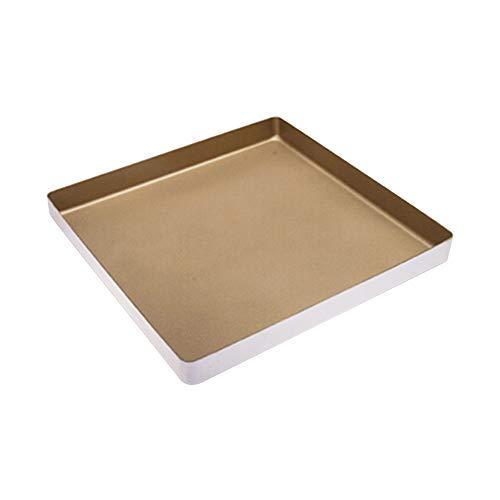 bakerdream Aluminiumguss Bakeware Aluminium Legierung quadratische Backform Kuchen und Brownieform Biscuit Form zum Backen, 27,9cm Kuchenform (27,9cm) (Brenner Aluminium-pfannen Mit)
