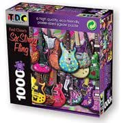 """Jigsaw Puzzle 1000 Pieces 19""""X26.5""""-Six String Fling"""