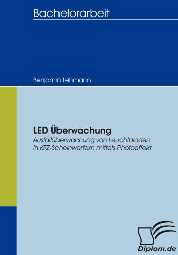 LED Überwachung. Ausfallüberwachung von Leuchtdioden in KFZ-Scheinwerfern mittels Photoeffekt