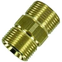 Conector de manguera Premium Plus.+ para mangueras de alta presión de Kärcher y limpiador de alta presión Kränzle HD & HDS con rosca M22como 4.403–002.0de One.–Fabricado en Alemania.