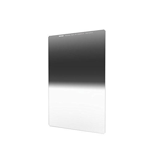NiSi Verlaufsfilter 100x150mm GND 0.9 Reverse, Nanobeschichtet und IR Neutral, mit umgekehrtem Verlauf, Stärke 0.9 (3-Blenden)