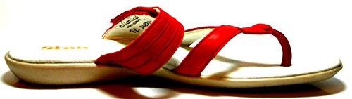 Sabaria by juge 34.8718.0005 chaussures pour enfants filles mules à talons - Kirsche (0005)