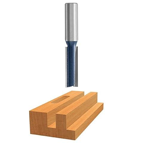 Bosch 85250M 1/4 In. x 7/8 In. Carbide Tipped 2-Flute Straight Bit