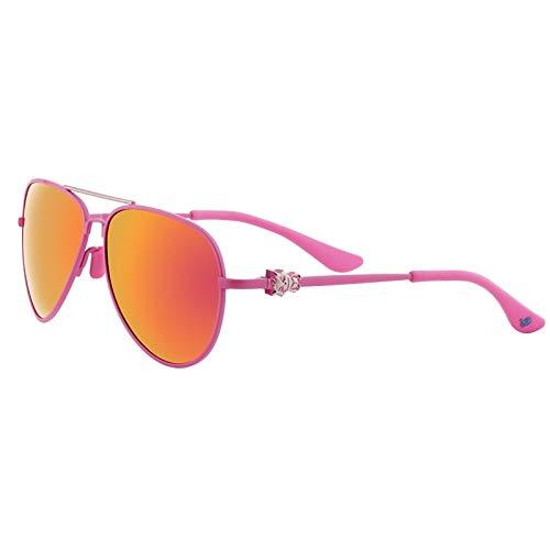 SWIMMM Aviator mit Gold Mirror Lense und Gold Frame Unisex Adult Sonnenbrille