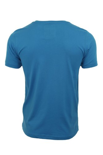 Dissident Herren T-Shirt 'Originals' Kurzärmelig Blau