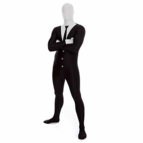 Morphsuits MPSUL - Kostüm Slenderman, L (Space Halloween-kostüm Suit)